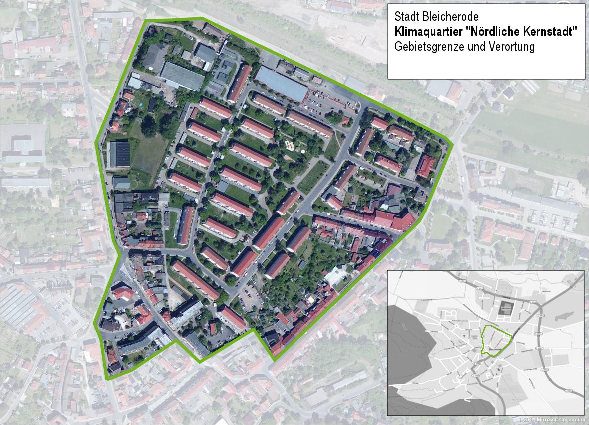 """Umgriff Klimaquartier """"Nördliche Kernstadt"""""""